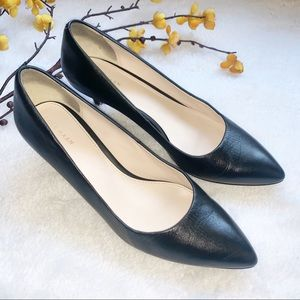 Like NEW COLE | HAAN 9.5 Leather Pumps Kitten Heel